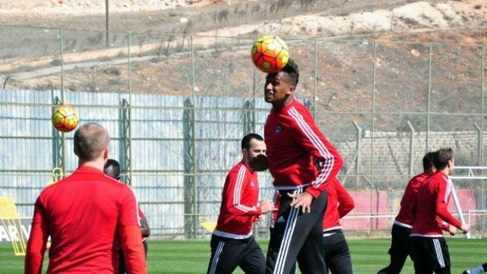 Gazintepspor, Galatasaray Maçı Hazırlıklarını Sürdürdü