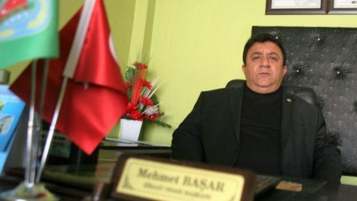 Başkan Mehmet Başer: Üreticiler Elektirik Faturalsrından Dertli