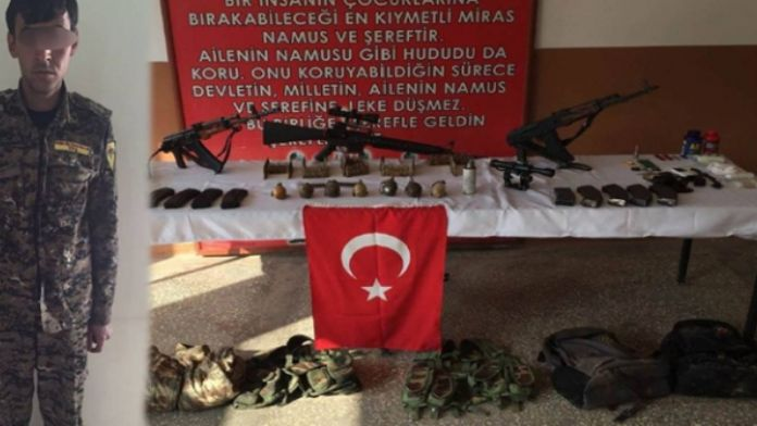 2 YPG'li terörist yakalandı