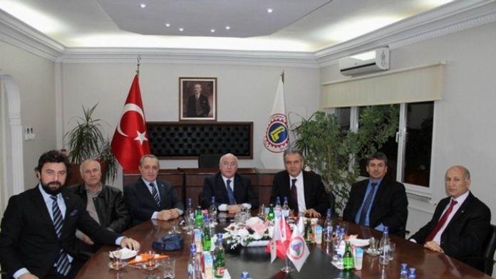 CHP Kırklareli Milletvekili Kayan'dan Lüleburgaz TSO'ya Ziyaret