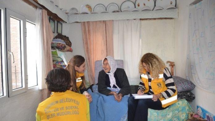 Bodrum'da Yaşlılara Saygı Projesi Sürüyor