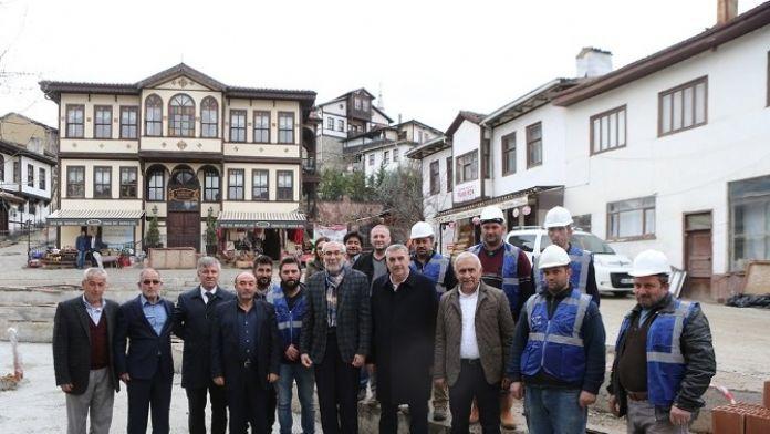 Başkan Zeki Toçoğlu'ndan Taraklı'ya Ziyaret