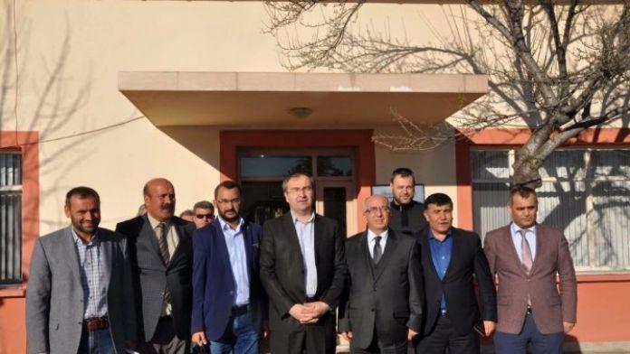 Karayolları Bölge Müdürü Mehmet Yazıcıoğlu Emet'te