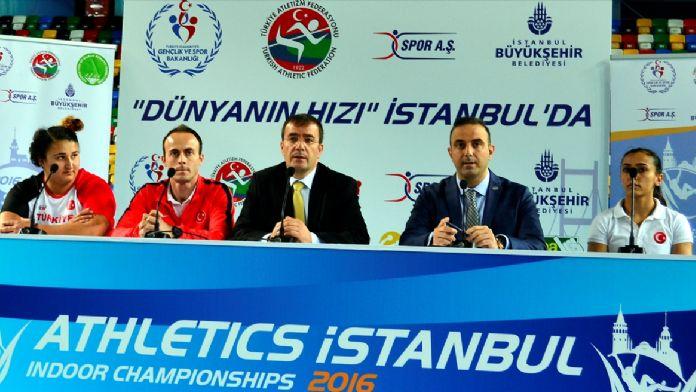 'Athletics İstanbul' yarın yapılacak
