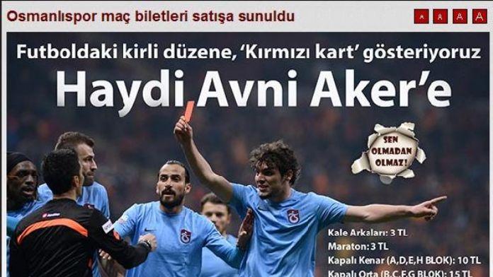 Trabzonspor'dan biletlere yüzde 600'luk 'protesto' indirimi