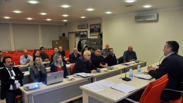 Başkan Gençer'den ATO Yönetimine OSB Sunumu