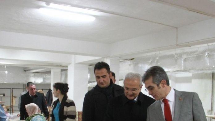 Başkan Başsoy Ermek'i Ziyaret Etti