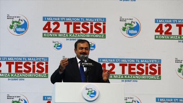 Konya'da 42 tesisin açılış ve temel atma töreni