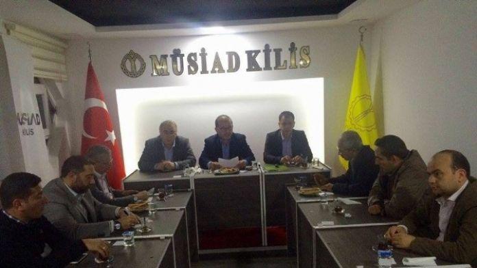 MÜSİAD Üyelerine Bilgilendirme Toplantısı Yaptı