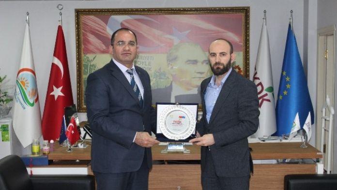 AK Parti Ağrı İl Başkanı Atmaca TKDK'yı Ziyaret Etti