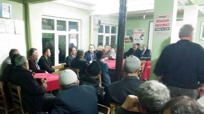 Beyşehir'de Çiftçi Eğitim Toplantısı