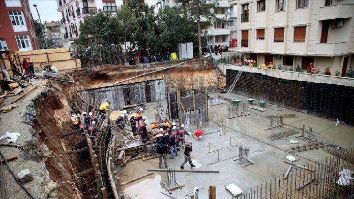 Yeşilköy'de toprak kayması: 1 yaralı
