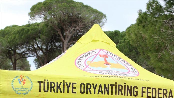 Antalya'da oryantiring yarışları