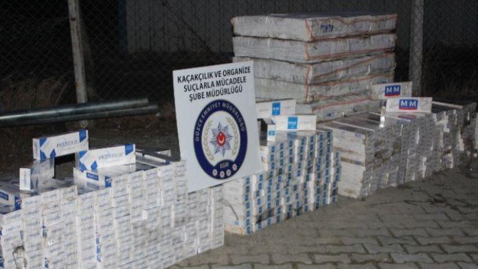 Kaçak Sigara Tacirlerine Düzce'den Geçit Yok