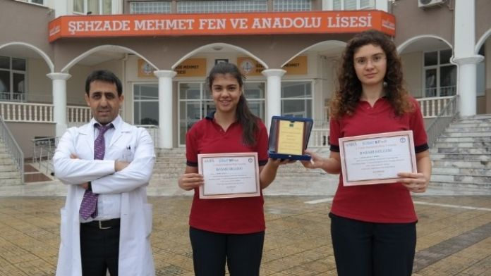 Şehzade Mehmet'li Öğrenciler Türkiye 3'üncüsü Oldular