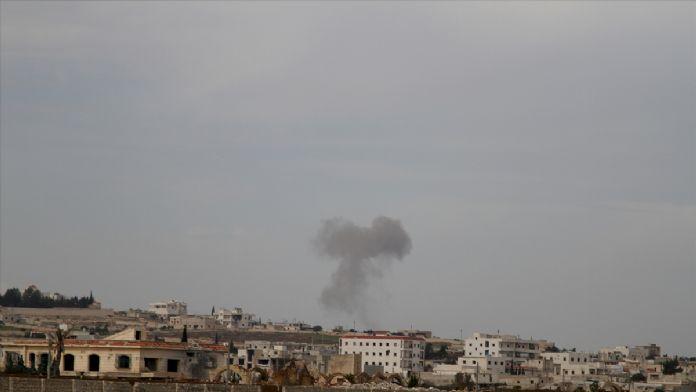 Rusların Halep'te yerleşim yerlerine yönelik saldırısı