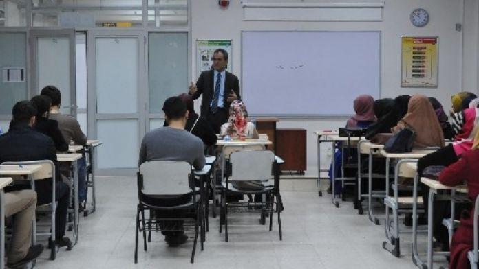 Rektör Özer İlahiyat Fakültesi'nde İncelemelerde Bulundu