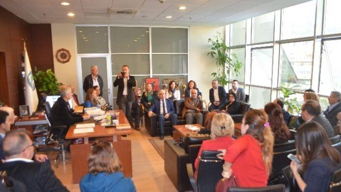 CHP Aydın İl Yönetiminden Söke Ziyareti