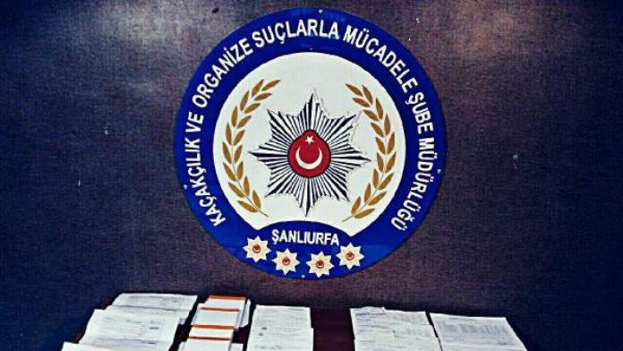 Şanlıurfa'da, sahte fatura operasyonu: 4 gözaltı
