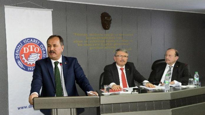 DTO Başkanı Özer Ekonomiyi Değerlendirdi