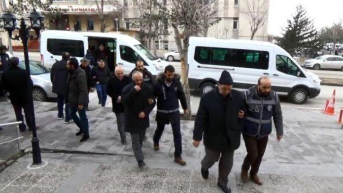 Erzurum'daki 'Paralel Yapı' Operasyonunda 11 Tutuklama