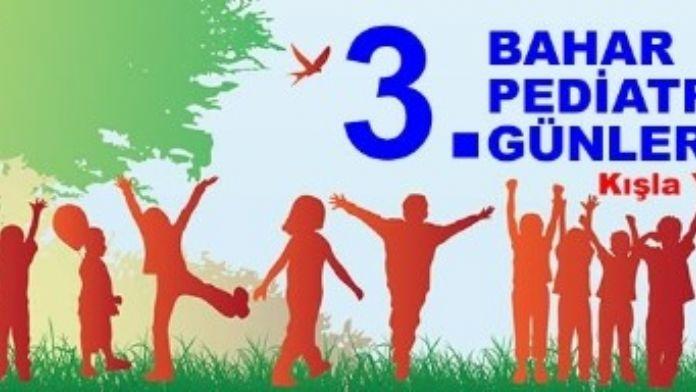 Bahar Pediatri Günleri İçin Geri Sayım