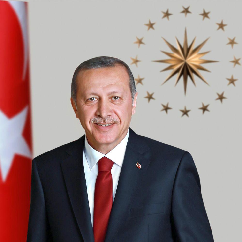 Cumhurbaşkanı Recep Tayyip Erdoğan Haliç'te