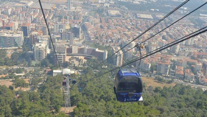 İzmir'in Teleferiği Bakıma Giriyor