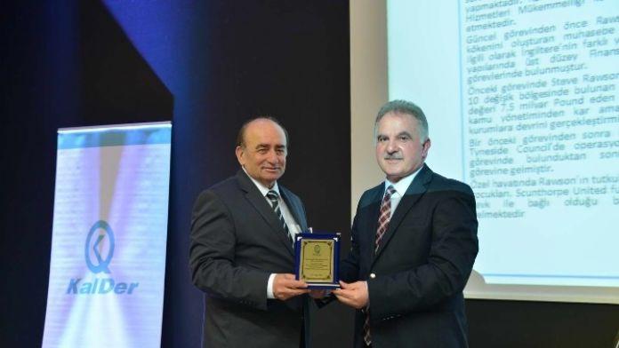 Rektör Elmas Kazananlar Konferansı'na Katıldı