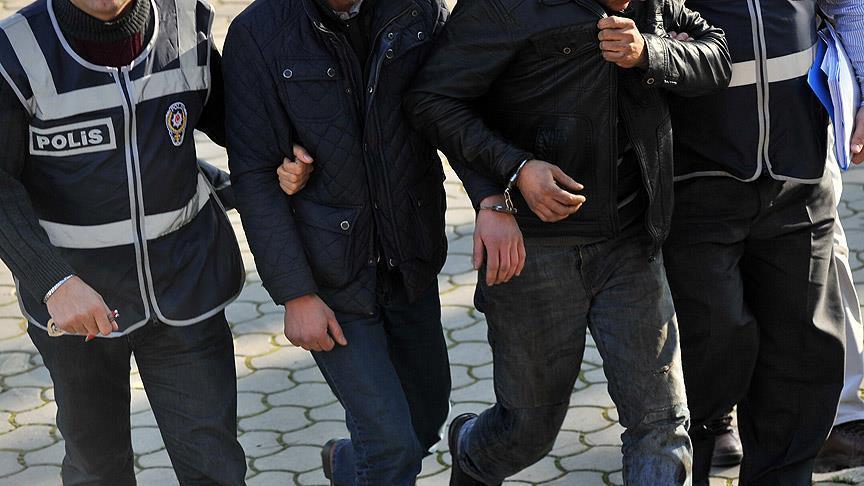 Kilis'te DAEŞ şüphelisi gözaltına alındı.