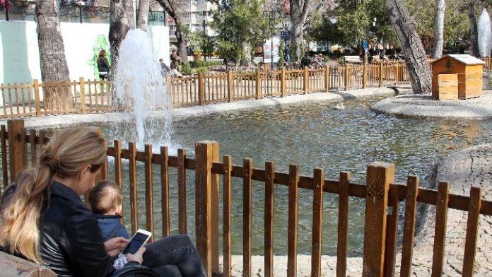 Kuğulupark'ta Ücretsiz Wi-fi