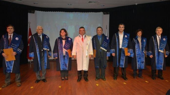 ÇOMÜ'de Akademik Yükselme Töreni Yapıldı