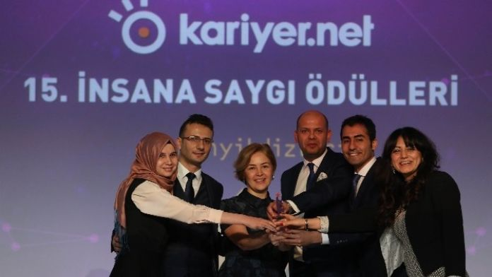 Bimeks'e 'İnsana Saygı' Ödülü