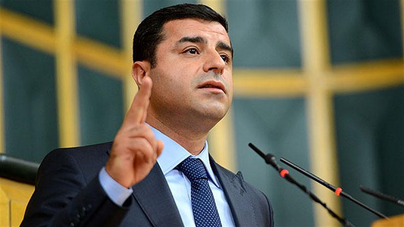 Demirtaş'tan Sur Operasyonlarına Tepki