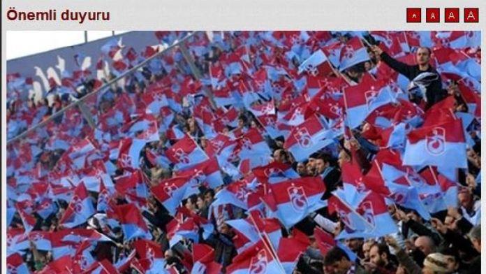 Trabzonspor Tahkim'e başvuracak