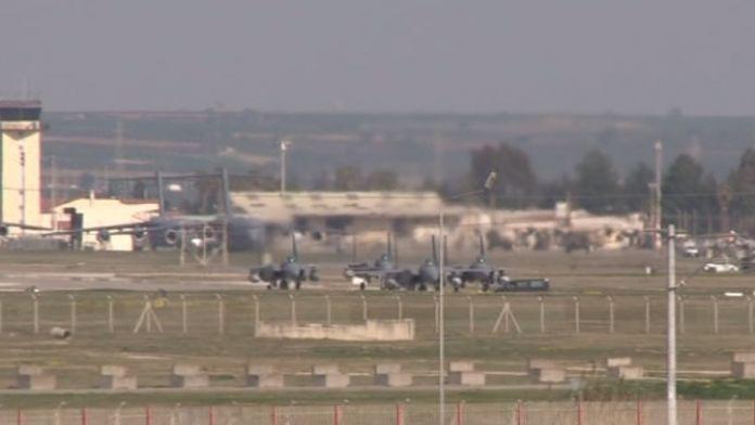 Suudi uçakları İncirlik'te
