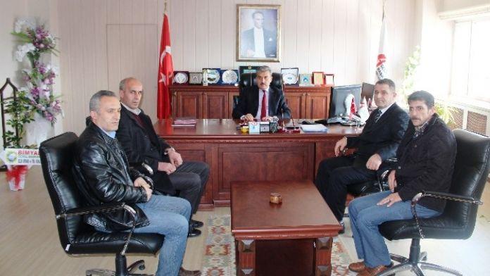 Bimyad, Vergi Dairesi Başkanı Poyraz'ı Ziyaret Etti