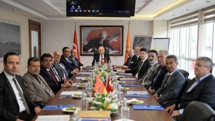 OSB Müteşebbis Heyet Toplantısı Vali Çakacak Başkanlığında Yapıldı