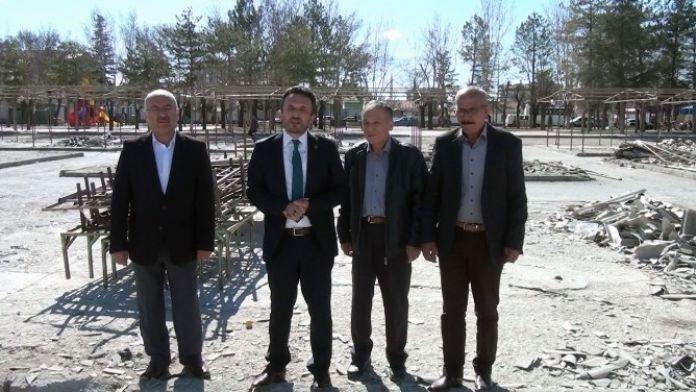Çumra'da Bardakçı Pazar Yeri Yenileniyor