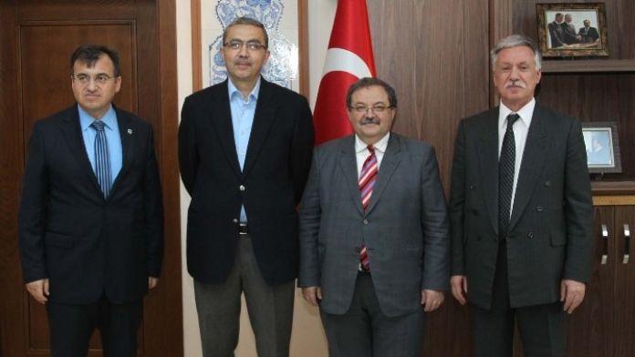 Kilis'ten BEÜ Rektörü Doğru'ya Ziyaret
