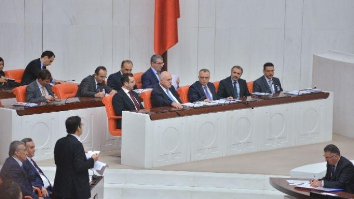 Genel Kurulda muhalefet şerhi tartışması