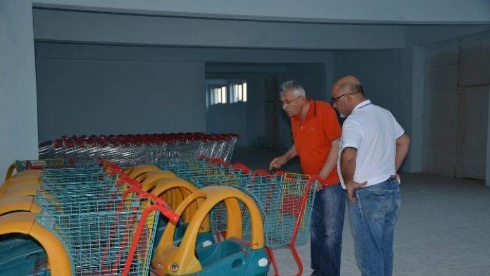 Gülşehir'de Kapalı Pazar Yerinde Sona Yaklaşıldı