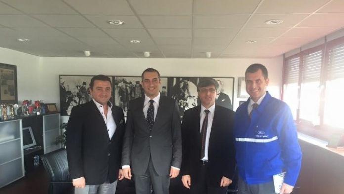 Başkan Bakıcı'dan Otosan Fabrika Müdürü Çimen'e Ziyaret