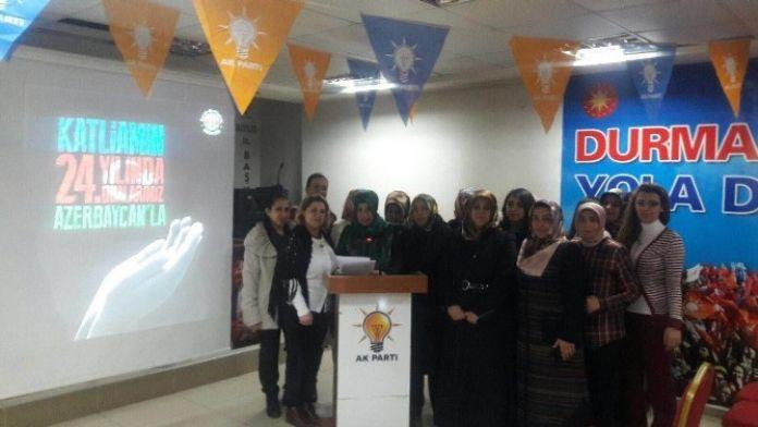 AK Parti'den Hocalı Katliamına Kınama