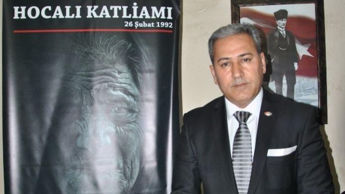 Manisa'daki Azerilerden Hocalı Açıklaması