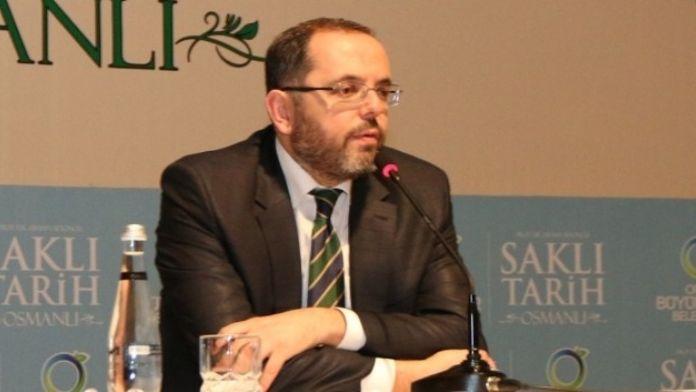 Afyoncu:'tarihten Ders Çıkarmak Gerekir'