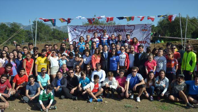 Antalya'daki oryantiring yarışları