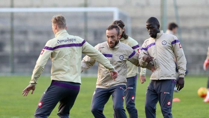 Osmanlıspor, Trabzonspor Maçı Hazırlıklarını Tamamladı