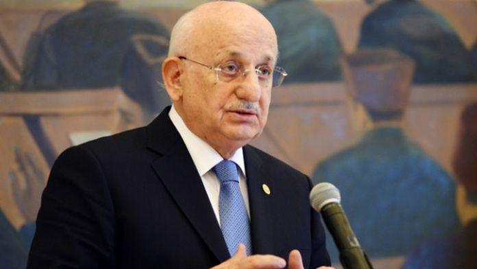 Meclis Başkanı'nın mektubu Davutoğlu'na ulaştı
