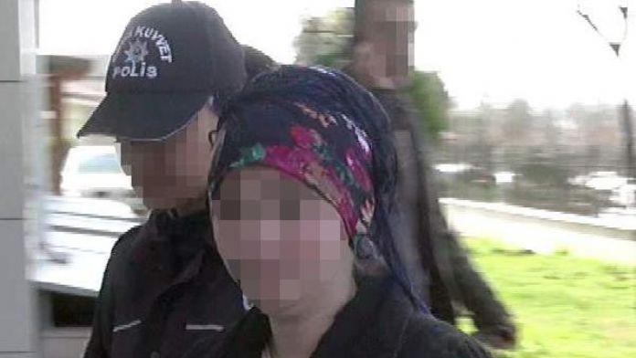 Polise el yapımı patlayıcı atan PKK yandaşı kadın tutuklandı